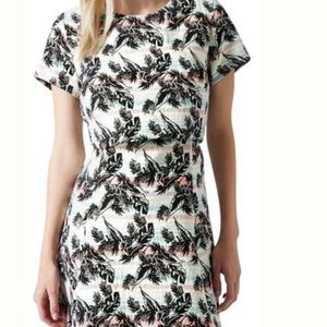 TopShop cut out skater dress in new condition